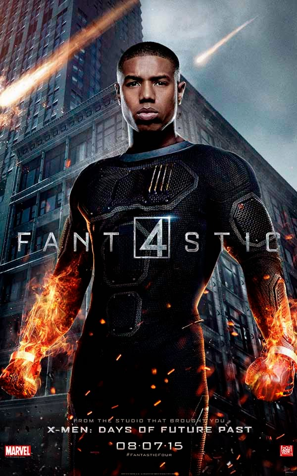 Poster Johnny Storm 4 Fantásticos