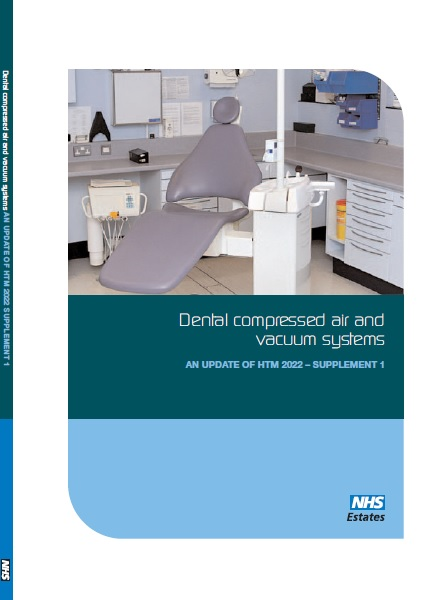 Medical gas pipeline systems, Supplement 1 update - Dental compressed air and vacuum systems