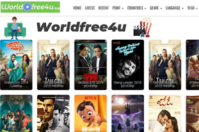 WorldFree4 2020 – Download Hollywood Bollywood Movies Web Series