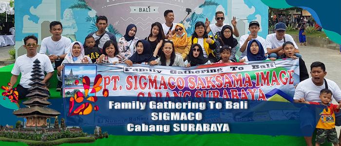 Sigmaco tour to Bali