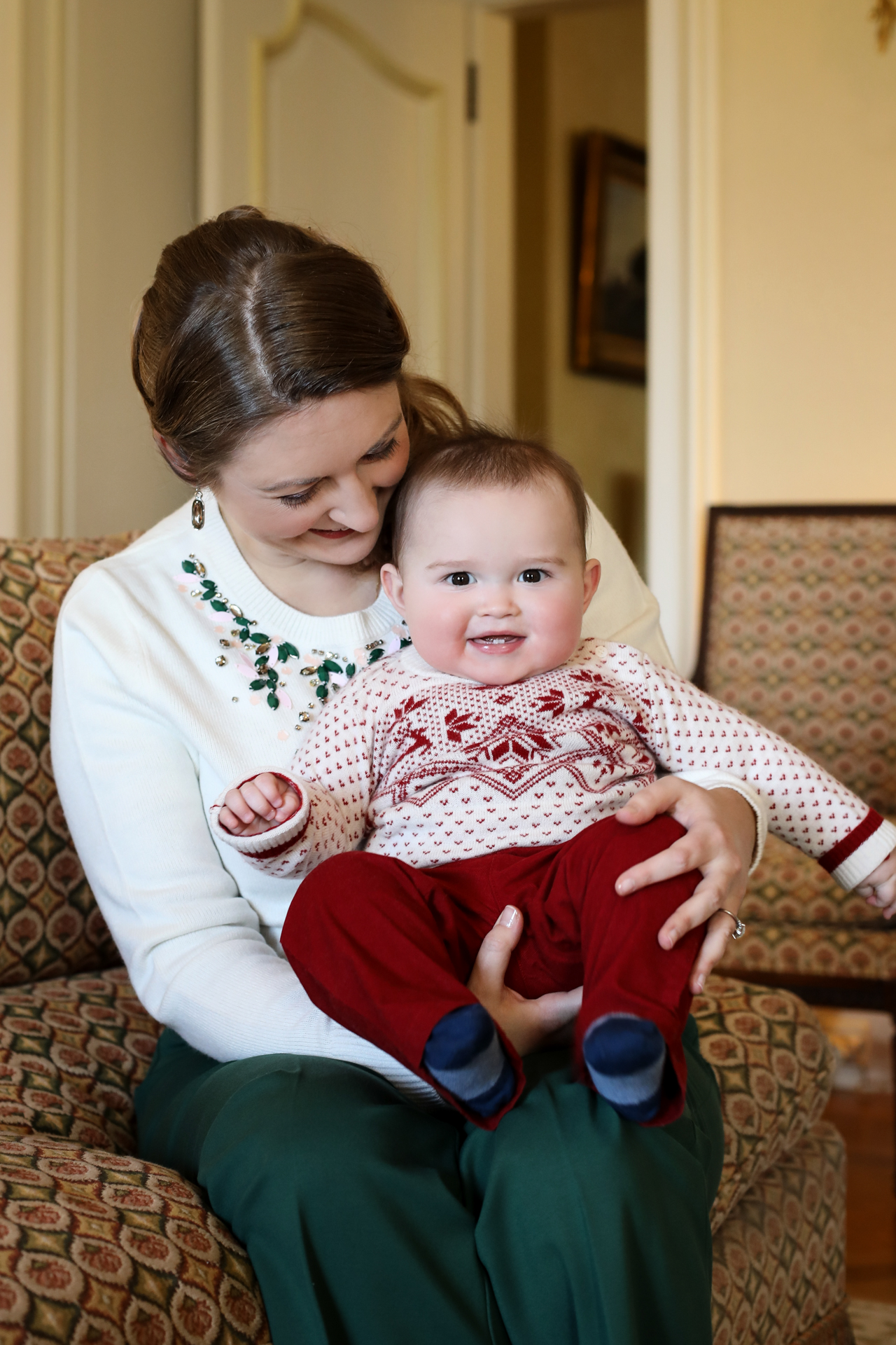 Cute Prince Charles and Gorgeus Stephanie - Celebration of Grand Duchess 37th Birthday