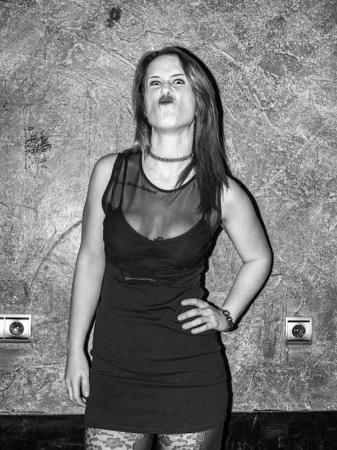 Terry Richardson Style con lorena B&N