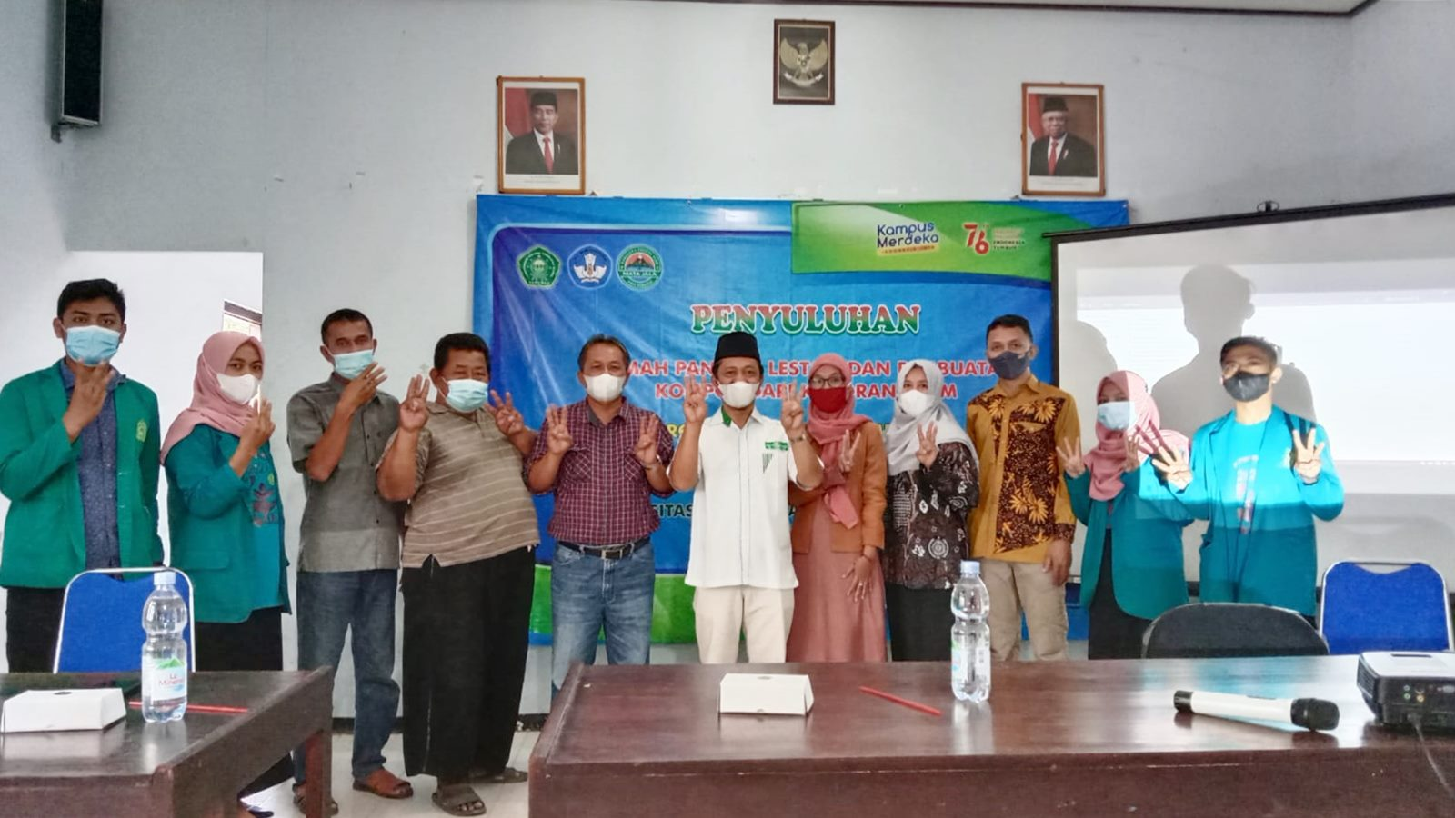 Mahasiswa KKN Tematik UMNU Adakan Penyuluhan di Desa Karangpoh