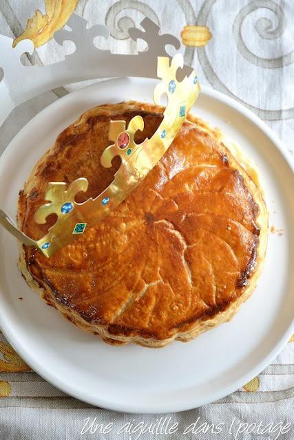 Galette des Rois à la crème d'amandes ou Pithiviers