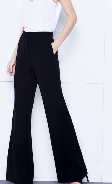 Fondo de armario rebajas FW 2015-2016 pantalones negros anchos