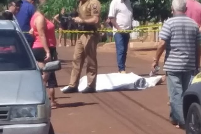 Homicídio é registrado em Campina da Lagoa neste sábado