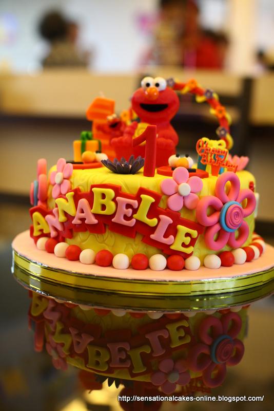 Cakes2share Singapore Sesame Streets Elmo 3d Cake