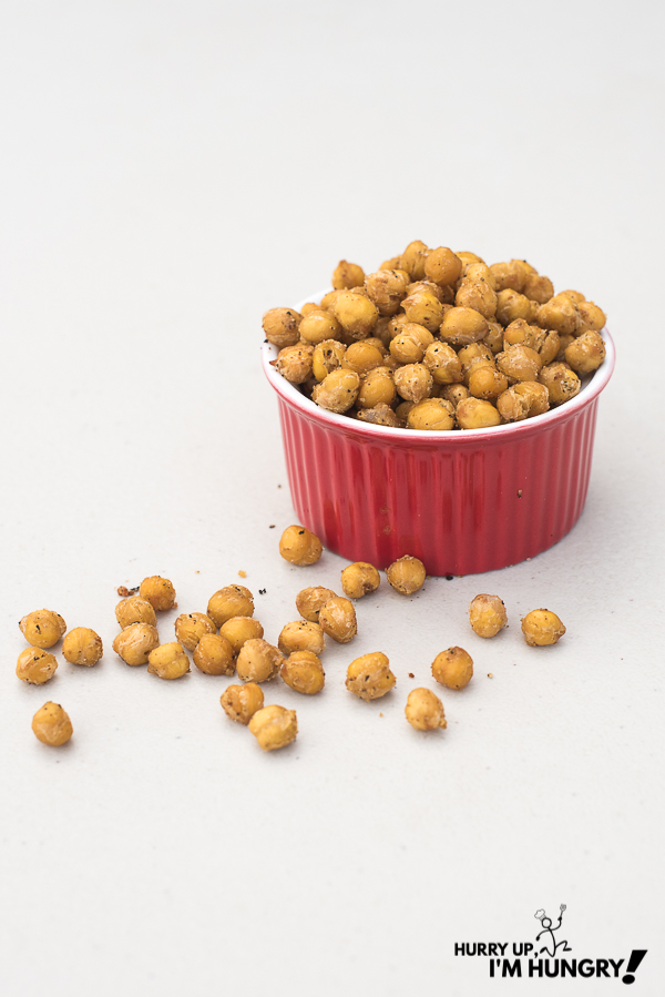 Crispy chickpeas - how to cook canned chickpeas