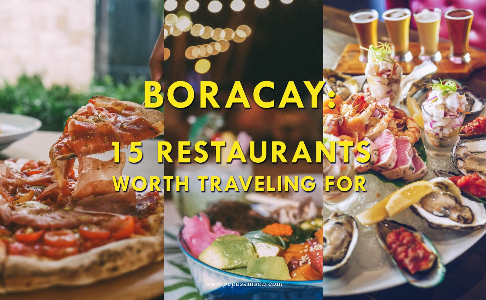 Boracay Food Trip: 15 Restaurants Worth Traveling For