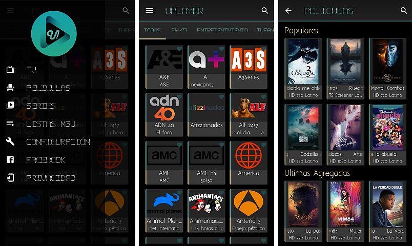UPlayer   TV premium, películas y series - App gratis