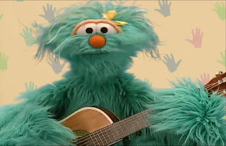 Rosita appears and explains that if she didn't have her hands, she wouldn't be able to play her guitar. Sesame Street Elmo's World Hands Quiz