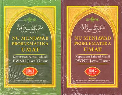 Jual Buku NU Menjawab Problematika Umat | Toko Buku Aswaja Semarang