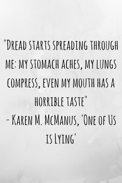 Review of 'One of Us is Lying' by Karen M. McManus