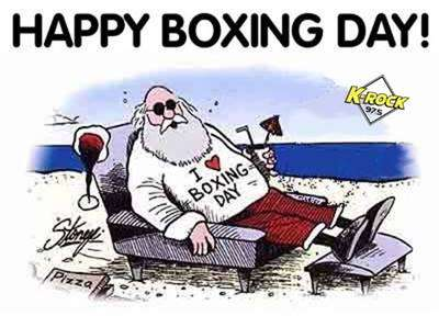Boxing Day Wishes Images