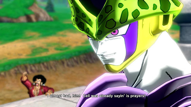 Dragon Ball Xenoverse Rawkhawk2010 typo quality control Cell I almost had, him is prayers