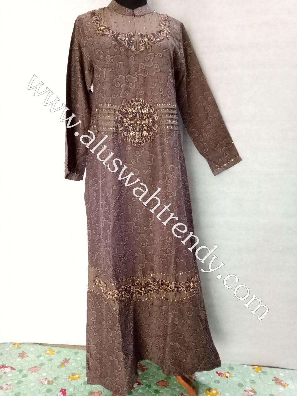 Gamis Muslimah Motif 048