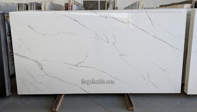 Porcelain countertops that look like calacatta marble