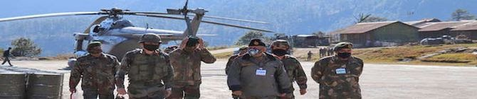 CDS General Bipin Rawat Visits Dras Sector Along LoC To Review Security Situation, Operational Preparedness