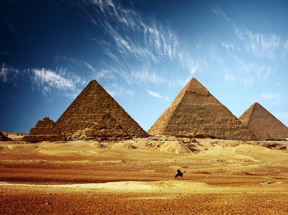 Las piramides de Egipto. Las 7 maravillas del mundo antiguo