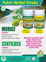 DENATURE OBAT HERBAL STROKE DE NATURE CENTILLOS MORICI ASLI HERBAL