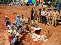 Pembangunan Embung di Tiga Desa Resmi Dimulai