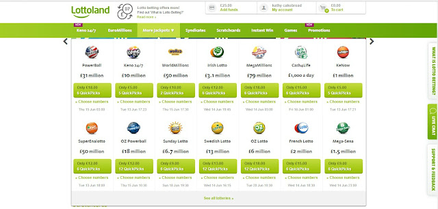 lottoland lotteries all over the world
