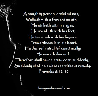Proverbs 6 Scripture Pictures