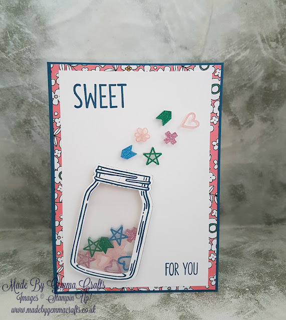 Stampin'Up! Jar of Love sweet for you