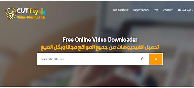تحميل الفيديوهات أونلاين مجاناً خلال ثواني من أي موقع
