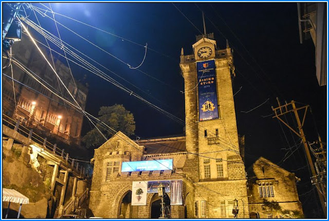 Darjeeling Municipality at Night view