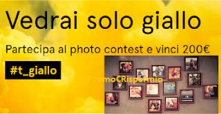Logo Scatta in Giallo e vinci gratis Gift Card Tonki da 200 € e una sorpresa per tutti