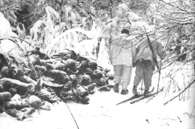 12 December1939 worldwartwo.filminspector.com Finnish skiers Russian corpses