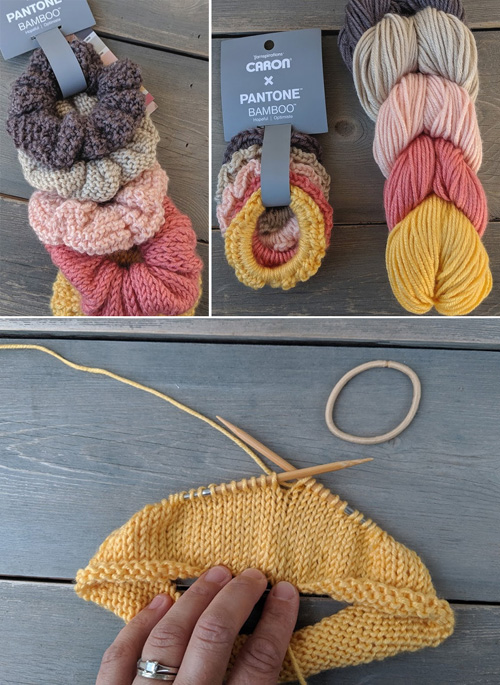 Free Knit & Crochet Scrunchies Patterns