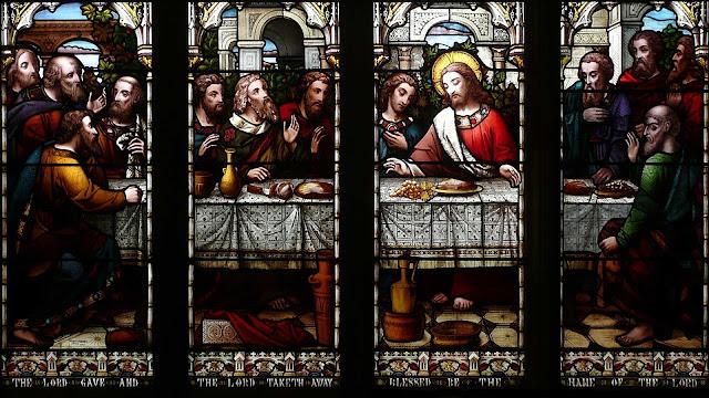 download besplatne pozadine za desktop 1920x1080 HDTV 1080p Uskrs čestitke blagdani Happy Easter posljednja večera Isus Krist i apostoli