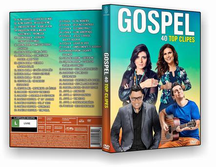 GOSPEL 40 TOP CLIPES 2019 - DVD-R