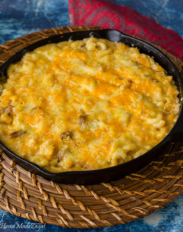 How to make oxtail macaroni and cheese