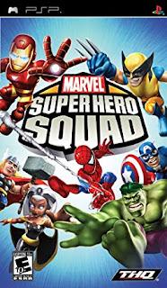 Cheat Marvel Super Hero Squad PSP PPSSPP