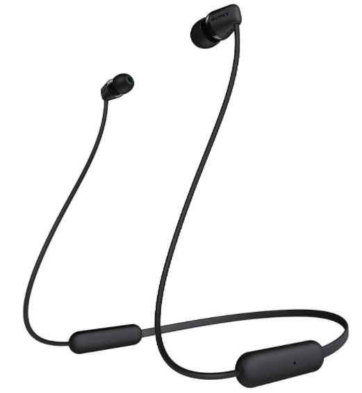 Sony WI-C200 Wireless In-Ear Headphones with 15 Hours Battery Life