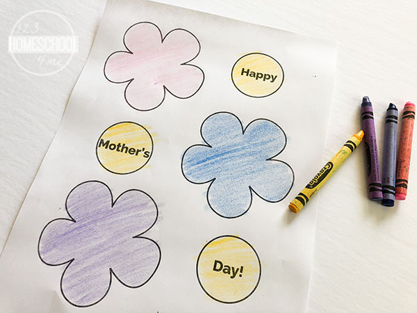 printable flowers craft