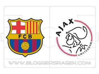 Hasil Pertandingan Ajax Vs Barcelona Skor Liga Champions Tadi Malam