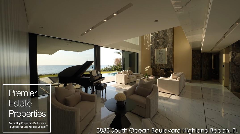 88 Photos vs. Tour 3833 S Ocean Blvd, Highland Beach, FL Ultra Luxury Mansion Interior Design