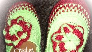 Pantuflas Crochet / Calzado de descanso paso a paso