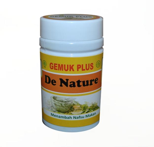 Khasiat Obat Gemuk Plus de Nature