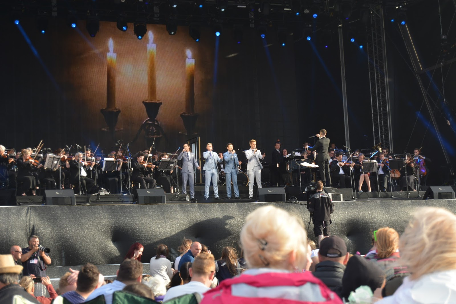 collabro, music, britains got talent, west end, musicals, lytham festival, the proms,