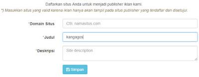Tambah situs publisher Zoteromedia