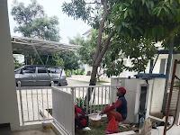 Pemasangan Kanopi dan tralis di Prumhan Serpong Jaya ,Jln Raya Puspitek, Serpong, Tangerang Selatan, Banten