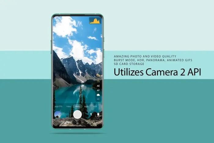 Footej Camera 2 - Aplikasi Kamera Manual Terbaik