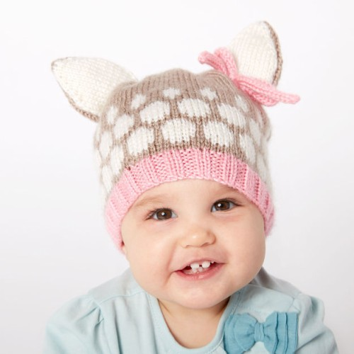 Speckled Fawn Hat - Free Pattern