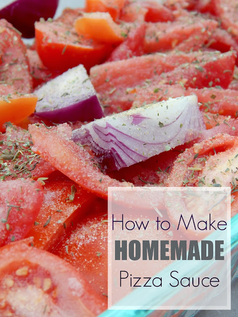 How to Make Homemade Pizza Sauce
