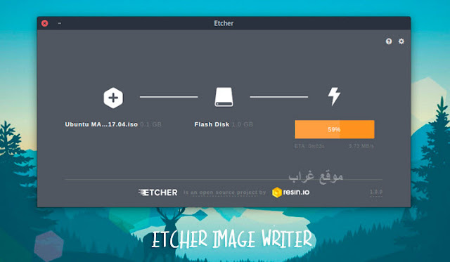 Etcher Image Writer